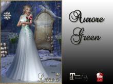 LE-Aurore Dress  Green