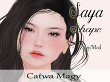 "Saya Shape ""Catwa Bento Magy Head"""