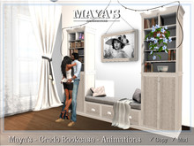Maya's - Credo Bookcase - Animations