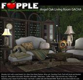 Fapple- Angel Oak Arch with Gem Curtain