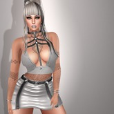 GeMyles Zoey Harness Top and Skirt Outfit (RLV option)