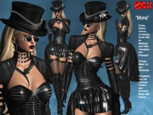 **MONA GOTHIC STYLE COMPLET OUTFIT **