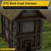 [FYI] Mesh Crypt Entrance for #fyicastlesystem