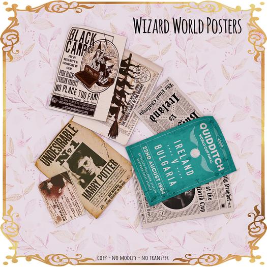 LeMomo: Wizard World Posters [GIFT]