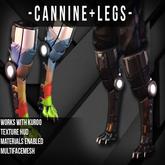 -Dimensional Cannine Legs