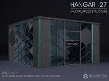 HANGAR -27 MultiPurpose Prefab [Neurolab Inc.]