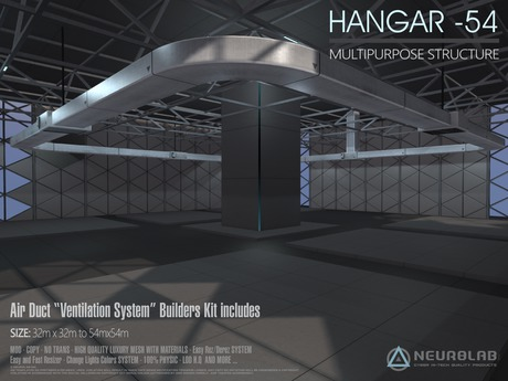 HANGAR -54 MultiPurpose Prefab [Neurolab Inc.]