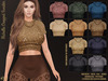 [hh] Michelle Cropped Sweater GLAM KNITS