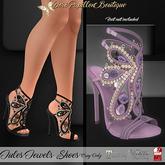 DPB Jules Jewels Shoes - Mauve