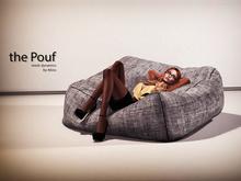 [Original] the Pouf by Abiss - Dynamic lazy bag / ottoman