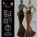 Son!a Paris Rigged Mesh Dress Sequins Bronze