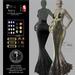 Son!a Paris Rigged Mesh Dress Sequins Silver