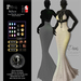 Son!a Paris Rigged Mesh Dress Sequins White wedding