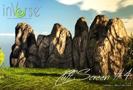 inVerse® MESH - Cliff screen #4