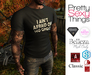★ PST Mens T - I Ain't Afraid Of No Ghost (Adam, Aesthetic, Belleza Jake, Gianni, Slink, TMP, Classic) ★
