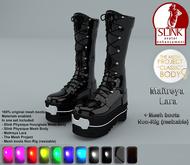 Ladies Latex Boots - Shaker (Maitreya, Slink, TMP)