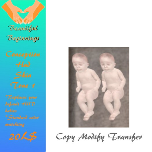 Baby Pair Skin Color 1