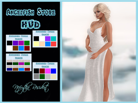 AngelFish Amelie Gown 4 x HUD