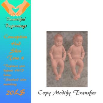 Baby Pair Skin Color 4