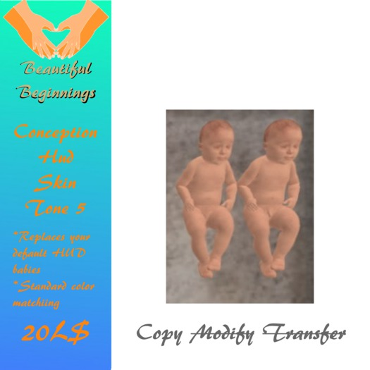 Baby Pair Skin Color 5