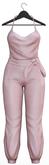 Seniha. Savannah Jumpsuit // Light Pink