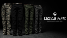 [WAZ] Tactical Pants (Black) BOXED