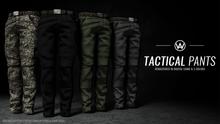 [WAZ] Tactical Pants (Black) *CLOSEOUT*
