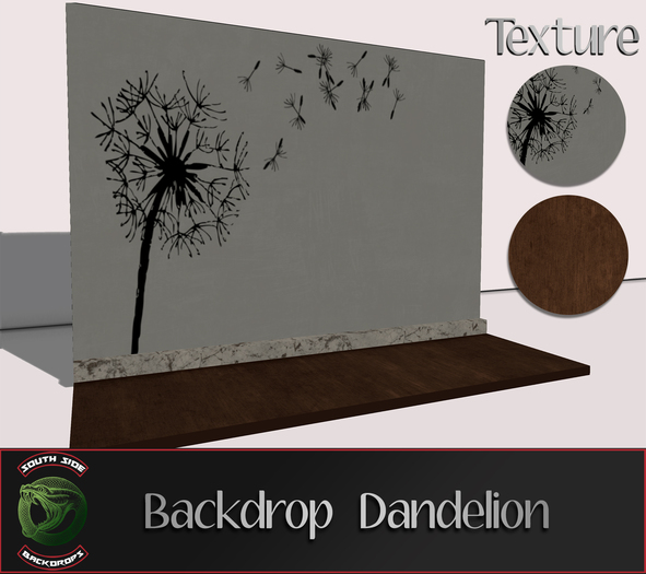 [South Side] - Backdrop Dandelion
