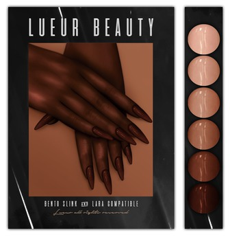 // L // Nudes v2 Nails - BENTO - Slink&Lara