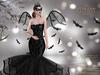 ::TD:: Bat Queen Gown with Appliers ~ Halloween