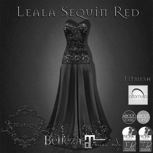 **Mistique** Leala Sequin Demo (wear me and click to unpack)