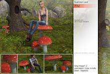 Sway's [Fay] Mushroom seat