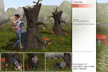 Sway's [Fay] Hollow Tree with Mushrooms