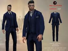 A&D Clothing - Suit -London- Navy