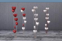 Love Is Sweet. Balloons Hearts FULL PERM Mesh !