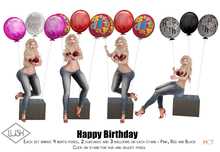 Lush Poses - Happy Birthday - Fatpack - Pose & Props