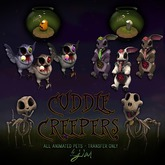 Jian Cuddle Creepers :: RARE Rip the Skele-dog
