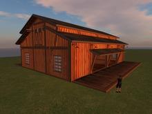 J&J western barn club MESH 163 land impact rezbox
