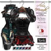 .: AlmaMiranda :. Burlesque Corset Dress with HUD