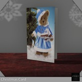 ::: Core ::: Christmas Card - Blue Bear
