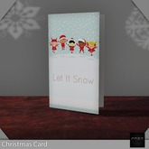 ::: Core ::: Christmas Card - Let It Snow