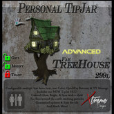 Advanced Fae Tree House TipJar [ tink sprite fairy ]