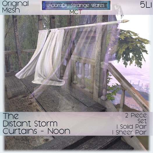 ~ASW~ The Distant Storm Curtains-Noon