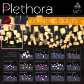 Plethora - Counting Lights - Counting Pages (sepia)