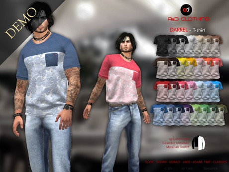 A&D Clothing - T-Shirt -Tylou-  DEMOs