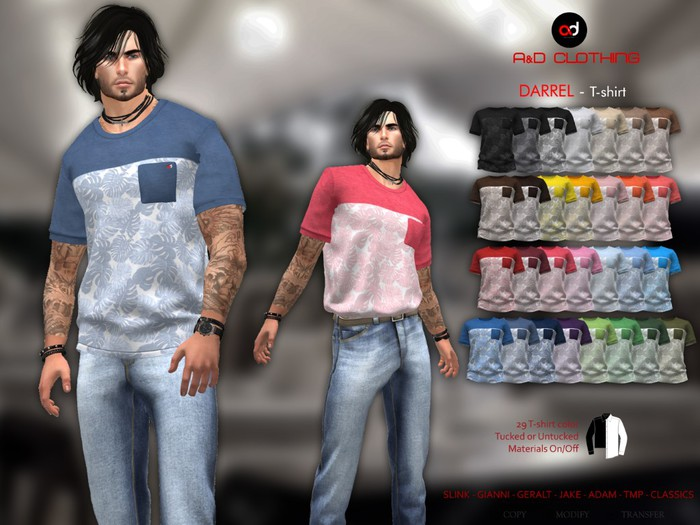 A&D Clothing - T-Shirt -Tylou-  FatPack