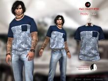 A&D Clothing - T-Shirt -Tylou- Navy