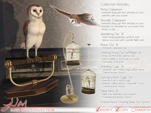 JIAN Barn Owl Collection BOX (Wear to unpack)