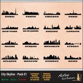 [A-U] Deco :: City Skyline - Pack 01