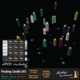 [A-U] Deco : Floating Candle 24X